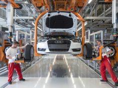 Audi.neue Produktion in Ungarn