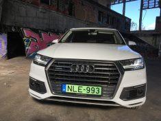 Audi, zöld rendszám