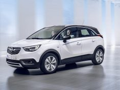 The new Opel Crossland X