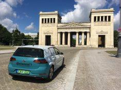 München, elektromos autó