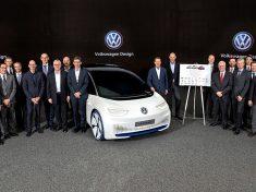 Volkswagen startet Countdown zum Produktionsstart des ersten I.D.-Modells