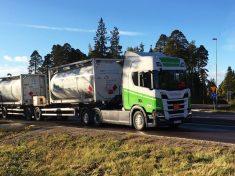 Scania bioetanol