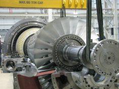 Gasturbine SGT6-5000F / The Siemens SGT6-5000F gas turbine
