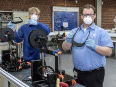 Coronavirus: Volkswagen uses 3D printing to produce face shields