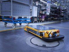 bmw, logisztika, robot, ipari logisztika,