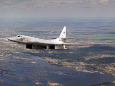 Képünk illusztráció, a Tu-160-at ábrázolja