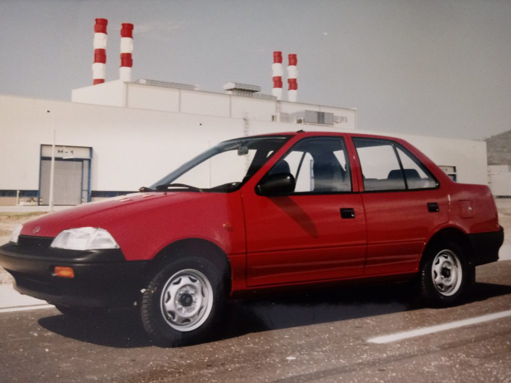 1993_Four-door Swift Sedan production