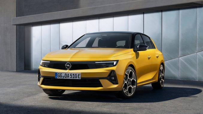 Opel Astra, németek